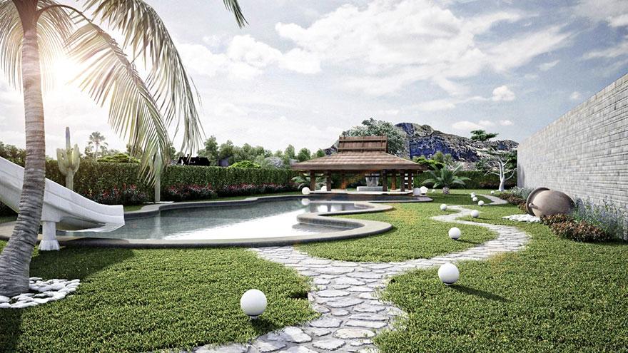 Jardin 3D